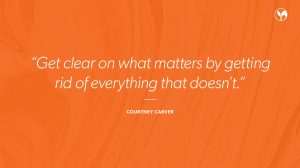 Simplicity Quote from Courtney Carver