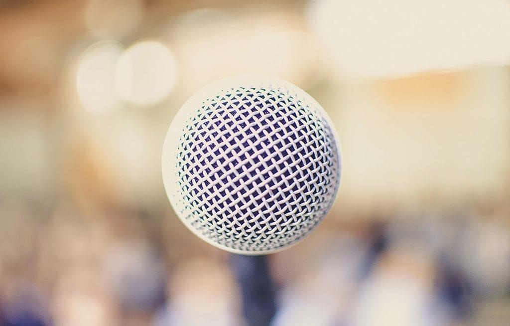 MicrophoneInCrowd